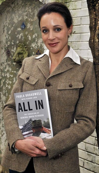 "Paula Broadwell, author of the David Petraeus biography ""All In,"" has been dubbed a slut and a cunning seductress. (T. Ortega Gaines/Charlotte Observer/MCT)"