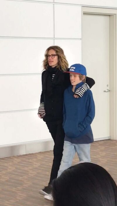 Supplied</p><p>Julia Roberts visited Winnipeg this summer.</p></p>