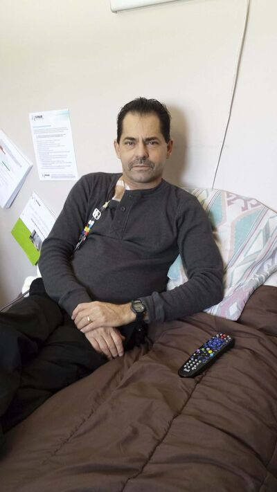SUPPLIED</p><p>Shawn Hafenbrak, a phys ed teacher now on disability, who lives in Winnipegosis.</p>