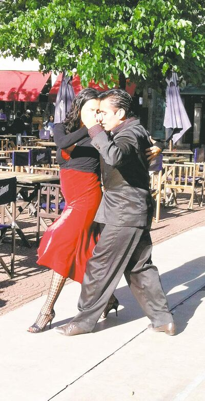 Crowds are wowed by the passion, rhythm and complexity of tango dancing.