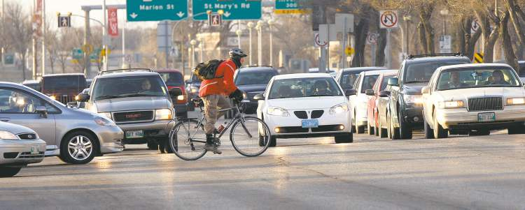One of the solutions to Winnipeg's road woes is taking the road less travelled -- on a bike.