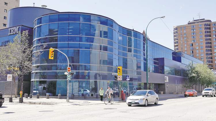 IBM is vacating all but three-quarters of the main floor in the three-storey building at 400 Ellice Ave. As well, the National Research Council is vacating its two buildings on Ellice Avenue.
