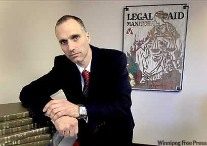 Legal Aid Manitoba;s Corey La Berge knows FASD-affected youth are vulnerable.