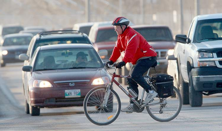 Cyclists put their lives at risk every day on Winnipeg streets, most of which are not bike-friendly.