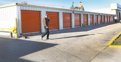 Remains of several fetuses were found inside a U-Haul storage facility on McPhillips Street.