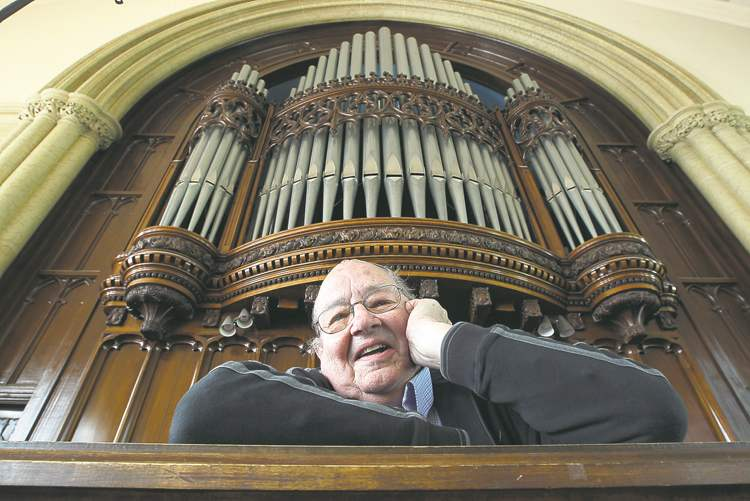 Organist Barry Anderson is retiring after 46 years at Knox United Church. His last day playing will be June 24.