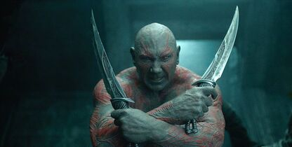 Dave Bautista plays Drax the Destroyer in Marvel's