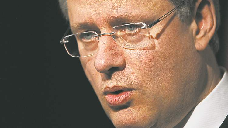 Support for Stephen Harper's Tories is down to 35 per cent, from 40 per cent in 2011.
