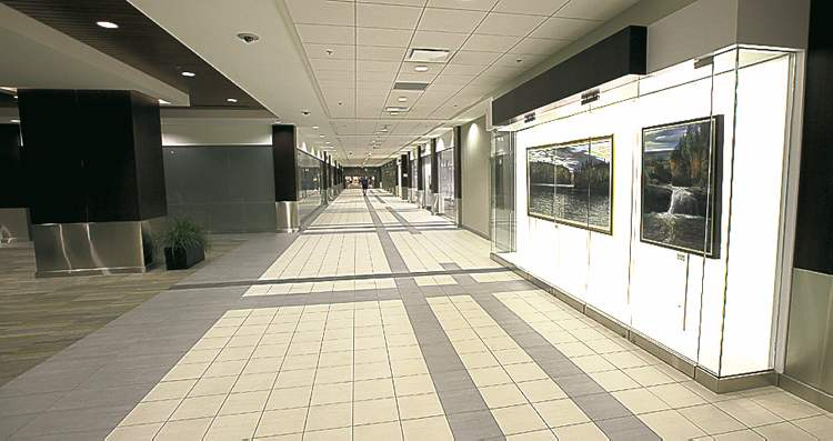 The Richardson Centre Concourse won the award for a renovated building.