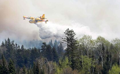 Whiteshell forest fire now larger than 5,000 hectares