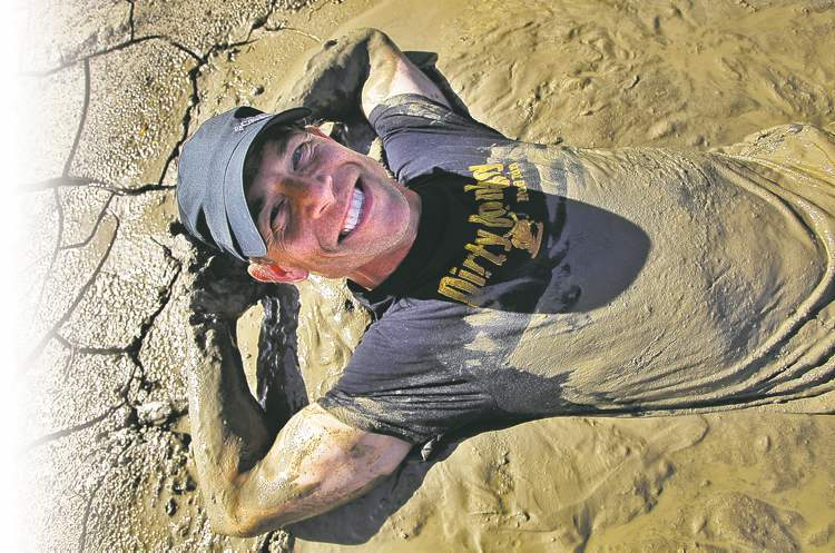 John Ford loves to get down and dirty during the adventure races he partakes in and promotes.