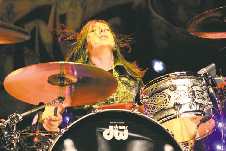 Brent Fitz is coming home to Winnipeg to play with Slash at the Burton Cummings Theatre Saturday night.