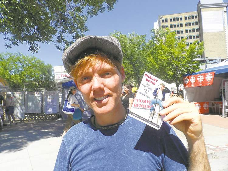 Shelby Bond was harassed near the Osborne Street Bridge but loves the Exchange District.