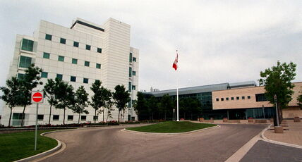 Ottawa assessed the lab at $60 million.
