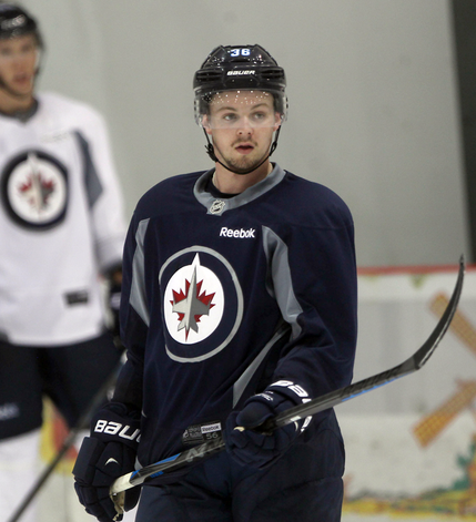 Kelowna Rockets defenceman Josh Morrissey, shown at a Winnipeg Jets camp in Penticton, B.C., last September, is one of the Western Conference champion's veteran leaders after arriving via trade from the Prince Albert Raiders last December.
