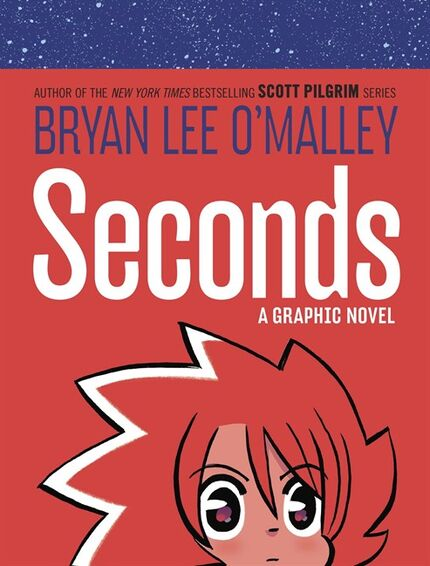 The cover of Bryan Lee O'Malley's new graphic novel
