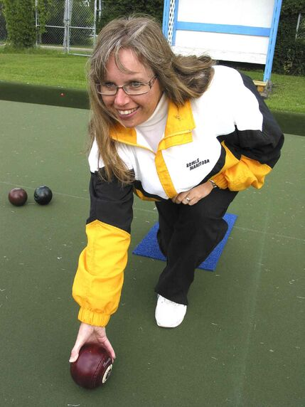 Shirley Fitzpatrick-Wong is pictured at Dakota Lawn Bowling Centre, located at 1212 Dakota St.