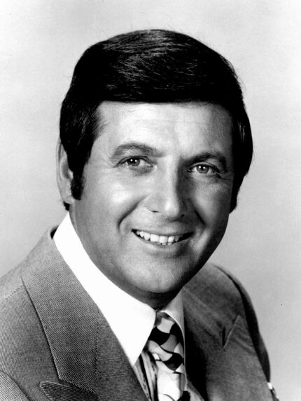 Publicity photo of Monty Hall from Let's Make a Deal's run on ABC, which lasted from 1968 to 1976.