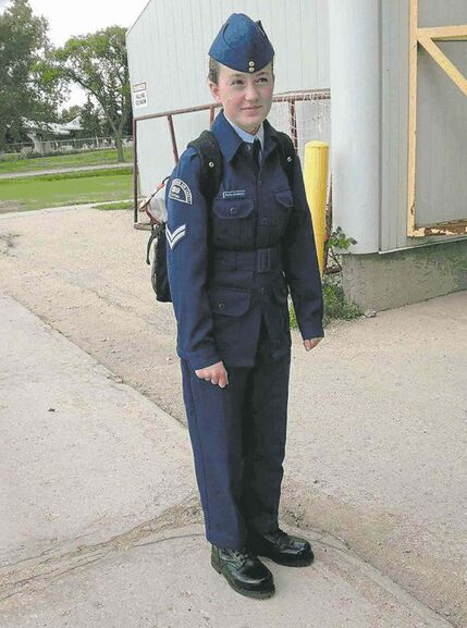Julie Papaioannou is a member of Royal Canadian Air Cadets Unit 199, which is looking for a new home in Winnipeg's south end.