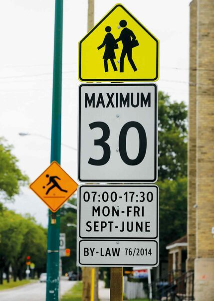 New school zone limits in Island Lakes will help keep kids safe.