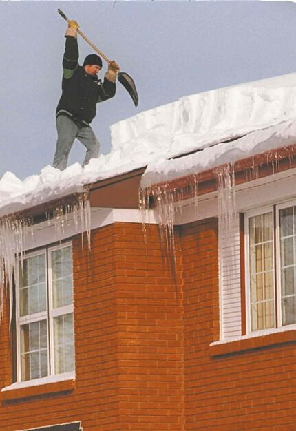 Hiring a professional to remove snow and ice from your roof is always a good plan, but the root cause of ice damming on roofs is due to heat that has escaped from your home into the attic.