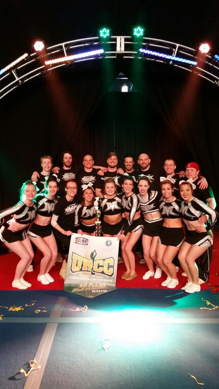Manitoba Mayhem is representing Manitoba for the first time at the USASF Cheerleading Worlds in Orlando, Florida