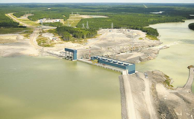 The document allegedly concerns the Wuskwatim dam (pictured) and the proposed, Keeyask and Conawapa dams and BiPole III transmission line.