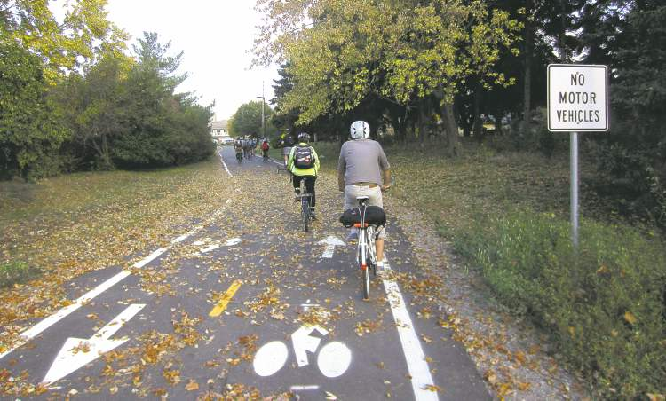 An extensive network of cycling paths has helped increase the number of Minneapolis residents who bike to work to 3.5 per cent.