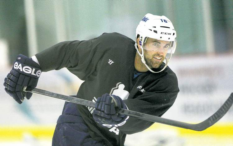 JOE BRYKSA / WINNIPEG FREE PRESSLocked-out Jets captain Andrew Ladd will be practising in an NHLPA jersey at the MTS Iceplex for the foreseeable future, having turned down a deal to play in Siberia.