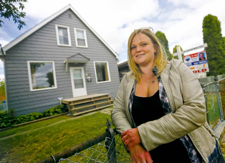 Pam McKenzie finally has her first home after losing two homes because of bidding wars.