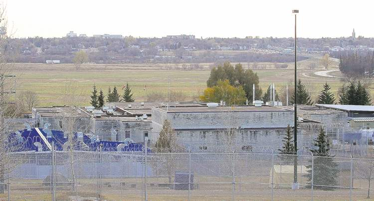 Tim Smith / Brandon Sun  Police are probing the death of Rock Machine biker Jean Paul Beaumont at the Brandon jail. 'It was probably a hit,' a source told the Free Press.