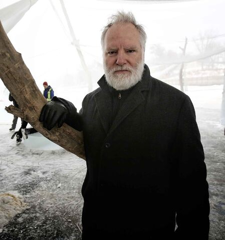 Guy Maddin's cameo came as a special request. (Mike Deal / Winnipeg Free Press files)