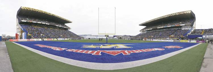 The Winnipeg stadium