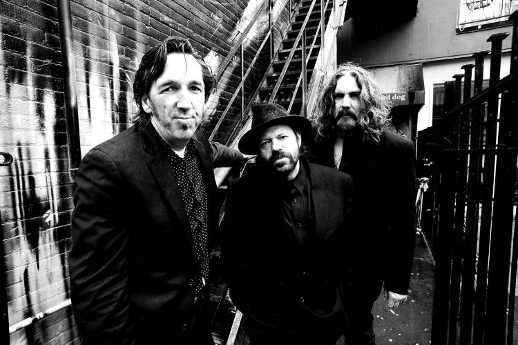 Blackie and the Rodeo Kings. Stephen Fearing (from left), Colin Linden and frontman Tom Wilson.