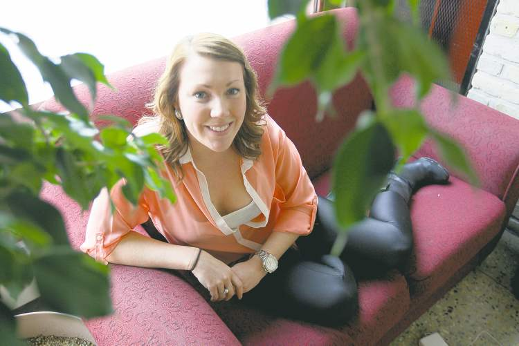 JOE BRYKSA / WINNIPEG FREE PRESS  Emily Doer is holding a fundraiser to benefit Health Sciences Centre's adult eating-disorders program, which treated her bulimia. Patients must wait a long time for care.