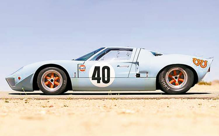 This 1968 Ford GT40 lightweight, raced at 24 hours of Le Mans and used as a camera car for the 1971 Steve McQueen movie Le Mans, was the most expensive sale of a U.S.-made car to date at $11 million.