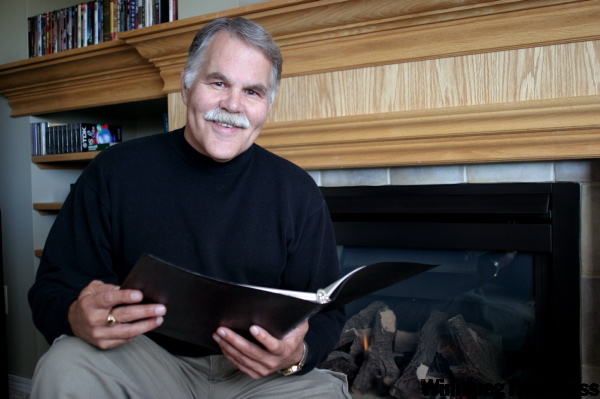 LINDA VERMETTE/WINNIPEG FREE PRESS Richard Hurst, looks forward to His Reading of A Xmas Carol at The Dalnavert Museum.