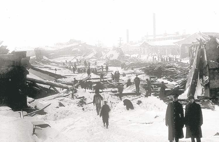 Fallout from 1917 Halifax explosion reached all the way to