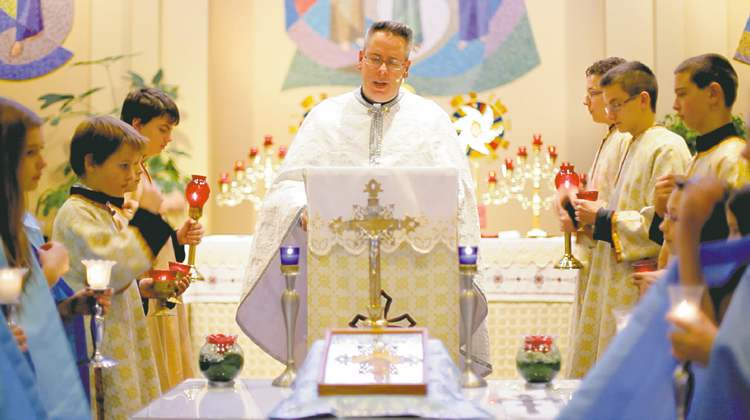 Rev. Darren Kawiuk hopes the video will dispel some of the myths and mystery about Ukrainian Catholics.