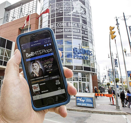 Starting this season, you can't print Jets tickets at home (or for arena or Burton Cummings concerts), you have to have a smartphone. Now, using the NHL app, you can the access the Bell MTS Place box-office and purchase tickets for concerts and events.