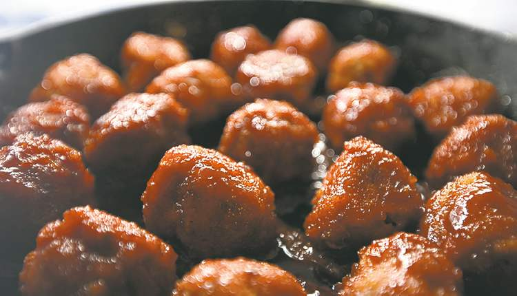 Golden dragon  meatballs