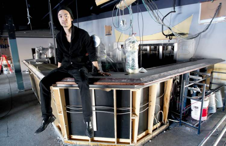 Stephen Hua is renovating  the Rec Room, a new lounge feature ping pong. Finding a liquor licence to fit the bill is posing a challenge.
