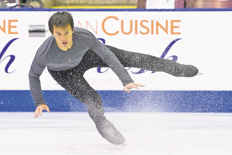 Patrick Chan (right) took some heat from former Canadian champ Elvis Stojko during the Olympics in Vancouver. However, they�re buddies now.