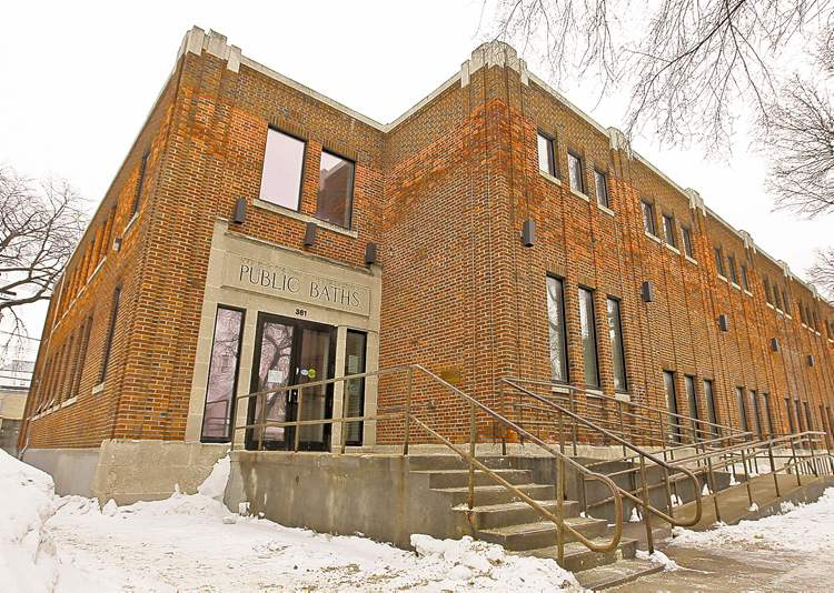 TREVOR HAGAN / WINNIPEG FREE PRESSFinance chairman Coun. Russ Wyatt says the state of the Sherbrook Pool is symptomatic of citywide infrastructure problems.