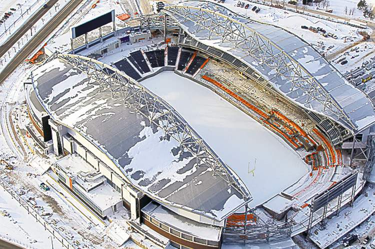 Investors Group Field: originally supposed to open in 2012