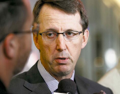Mark Chipman says moving his AHL affiliate to Winnipeg in 2015-16 is an option if a new building in Thunder Bay doesn't materialize soon enough.