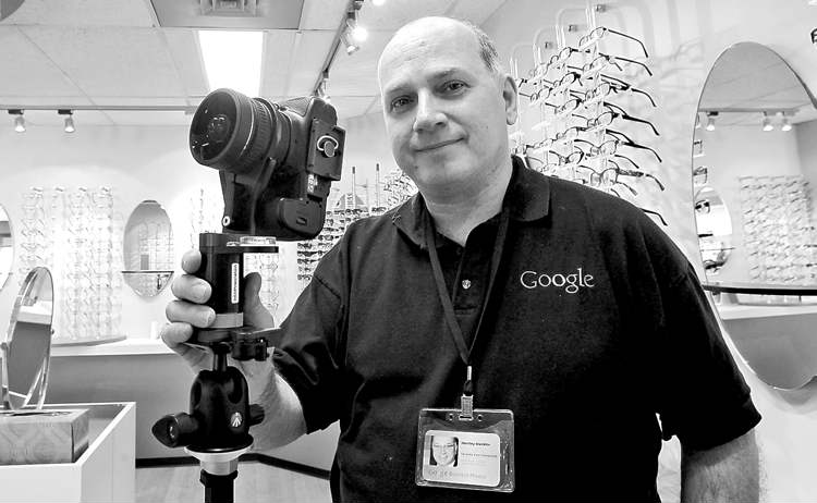 Hart Macklin, owner of Macklin Business Photography, was contacted by Google last spring and asked to handle the business side of things in Winnipeg. He'll also take a new Street View picture and help businesses set up their Google+ local page.