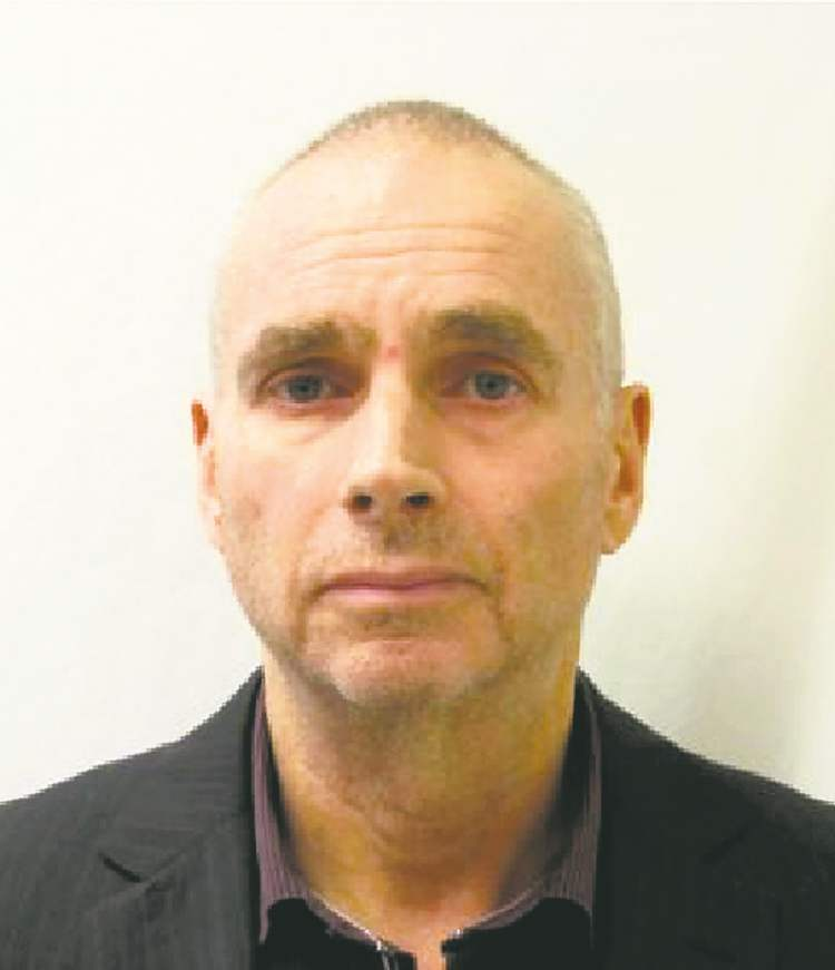 Graham James' mug shot from when he was sentenced to Stony Mountain Penitentiary in 2012.