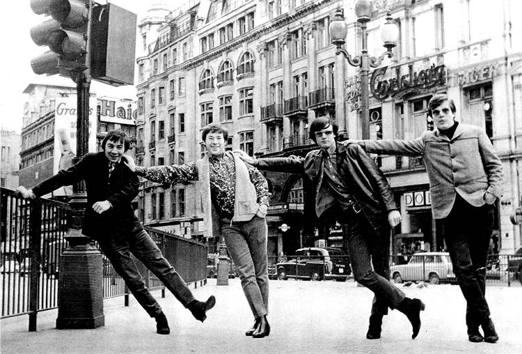The Guess Who travelled to London in 1967 with the highest of hopes � but they were soon dashed. INSET: Note written by Bob Burns during the ill-fated trip.
