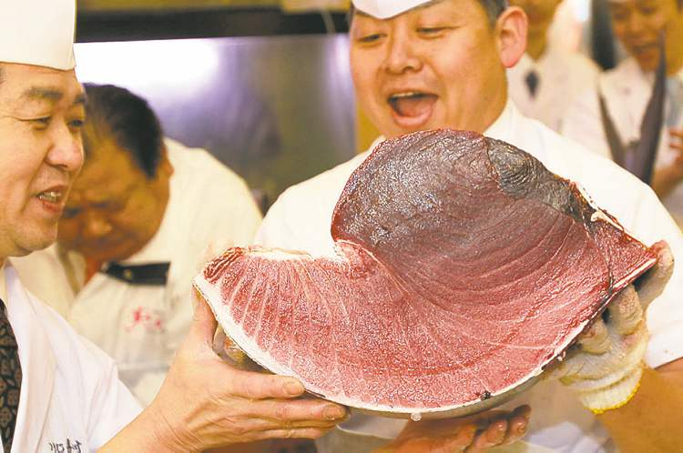 Shizuo Kambayashi / The Associated Press archivesThe Atlantic bluefin is officially endangered, according to the International Union for the Conservation of Nature.